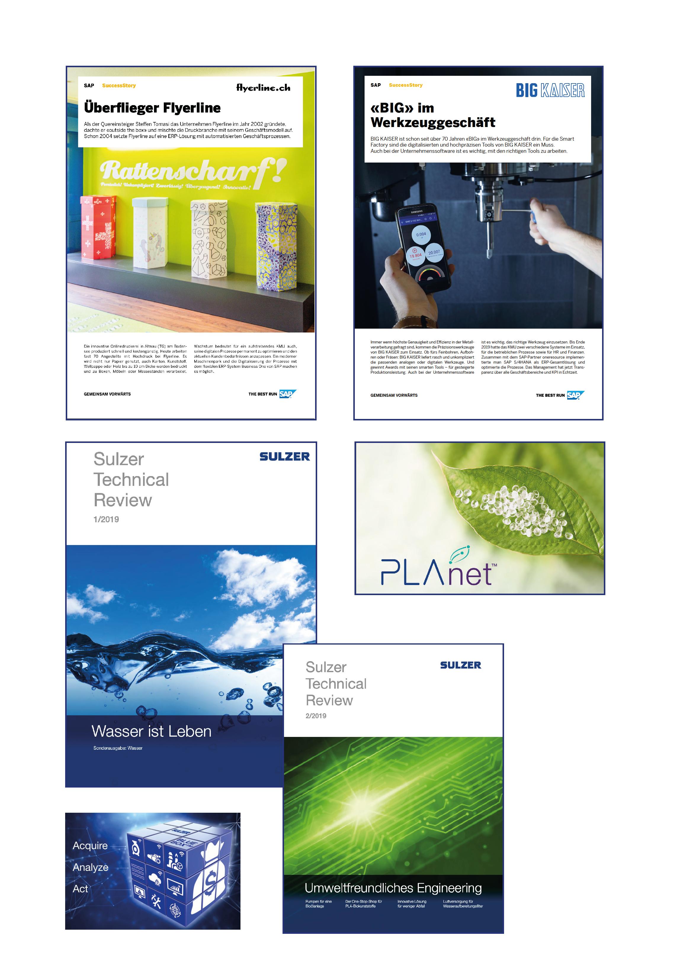 Success Stories and Customer Magazine